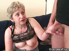 threesome hardcore hot mom blowjob tits