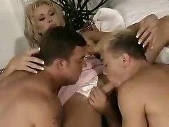 threesome anal hardcore blowjob shemale