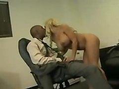 Black and Ebony Blondes Cumshots