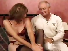 facials matures stockings