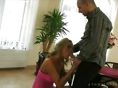 stockings cumshot hardcore blonde smoking blowjob pussyfucking