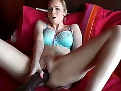 amateur homemade pussylicking toys dildo tattoo tight teasing masturbation solo