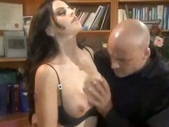 brunette lingerie ass panties pussy big tits blowjob face fuck tittyfuck riding tattoo cumshot facial wet reality milf