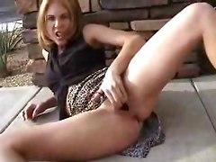 reality wife car public masturbation toys fingering outdoor anal dildo solo fetish