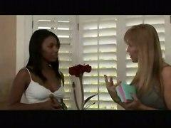lesbian hot sexy redhead 69 interacial massage