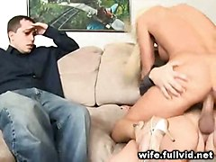 hardcore blonde housewife voyeur reality straight