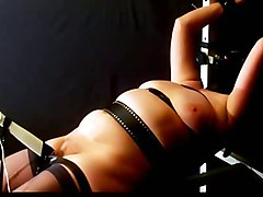 mature vibrator moaning domination bdsm bondage blindfold orgasm plump orgasms dominated