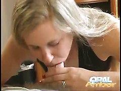 Oral Amber Blonde Blowjob Hardcore Pov Cum Amateur BJ HJ POV
