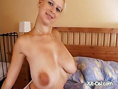 Natural Milky Boobs Solo Big Boobs Softcore Blonde
