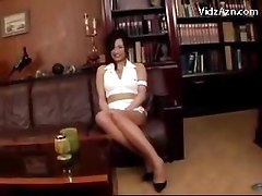 Girl In Tiny White Dress Pantyhose Rubbing Guy With Her Pussy Getting Tits Rubbed