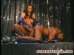 Hot amateur couple lesbians double penetration dildos