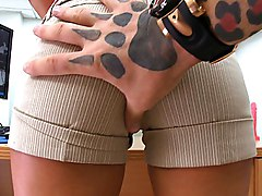 milf  big ass  mom  clothes off  office sex  spread legs  masturbation  dildo  desk  from behind  lights Lindsey Lovehands