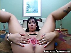 dildo big pornstar butt brunette amateur masturbation solo sextoy webcam pornstarsonwebcam