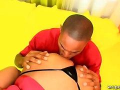BBW Black and Ebony Tits