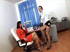 Lingerie Stockings Threesomes