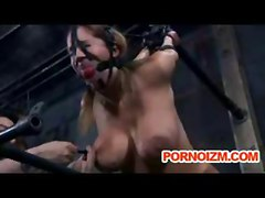 BDSM Bondage Maledom Wax Cane Spank Ropes Sadism Masochism Master Slave Training Dungeon Fetish Tits Juicy GagBall