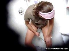 hairy teen pussy shower masturbate sexy young babe hidden voyeur