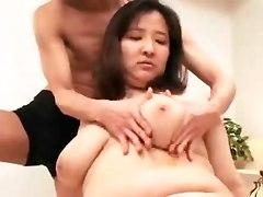 big tits hardcore Asian fat mature