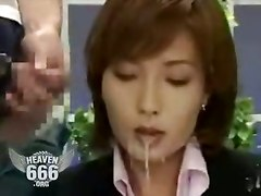 Japanese Reality Asian Bukkake Cumshot Wet Facial Funny