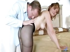 small tits mature stockings blowjob handjob 69 pussylicking doggystyle riding masturbation piercing