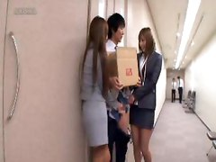 Pantyhose Ol Abused An Amateur Man Employee.