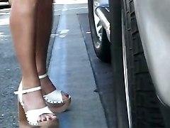 Porn Stars Foot Tease Heels POVPorn Stars Babes POV Feet