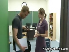 naughtyamerica teacher multiple student reality oral sex cumshot big tits