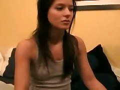 young homemade amateur teen stripping