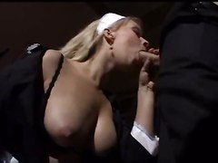 german maid blowjob