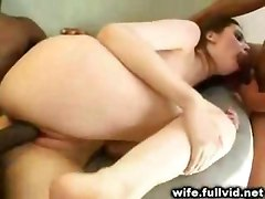 Housewife Gangbanged