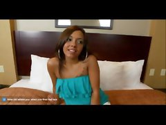 ebony black ethnic teen amateur first time