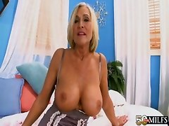 mature boobs anal interracial blowjob