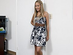 blonde  hairstyle  cute  sweet  beautiful  green eyes  smile  dress  skinny  tanned  clothes off  beautiful tits  natural tits  dress  stylish  shy  excited  oiled  oiled Laura Love