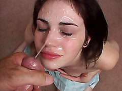 Passionate blowjob amp cum swallow by cute girlfriend 6