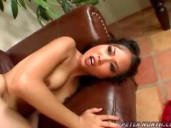 interracial cock riding big cock hardcore Asian ball sucking