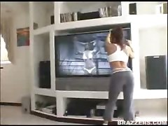 milf latina maid hardcore big tits brunette