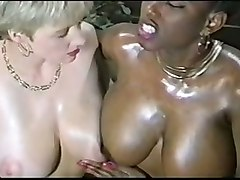 Ebony Ayes And Danni Ashe Busty Black Interracial
