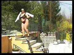 Chubby Bbw Girl Fucks Outdoor