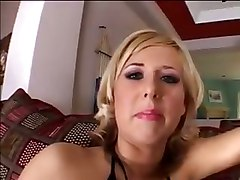 blond raven threesome interracial deepthroat blowjob hardcore cumshot cumswap