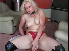 amateur homemade couple wife latex blonde panties ass dancing striptease teasing fetish piercing mature chubby pussy rubbing masturbation