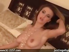 solo girl tits strip masturbation sexy legs