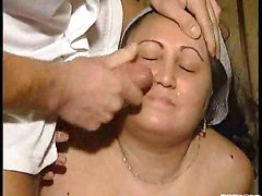 stout fatty mature bitch override facial