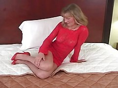 Amateur Blondes Stockings