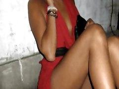 UPSKIRT NIP SLIP OOPS EBONY LEGS PANTIES PUSSY MATURE FETISH SEX