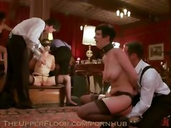 Sex Slaves Hired To Service The Upper Floor