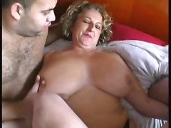 BBW Group Sex Stockings