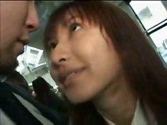 schoolgirl blowjob japanese sucking