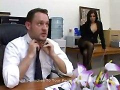 cumshot hardcore latina blowjob pussyfucking office fetish pantyhose
