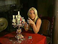 cumshot hardcore blonde oiled blowjob pussylicking pussyfucking dungeon