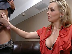 office  mature  mom  milf  white  big tits  office clothes  blowjob  in clothes  blonde  deep throat  lingerie  stockings  lick  in clothes  moan  cock ride  at work  sofa  quality  tall  clothes off Tanya Tate
